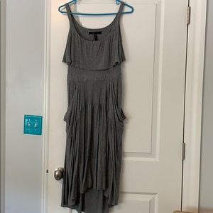 BCBG dress with cutout back and great pockets
